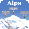 Studio Goursau - Alps Mountains —peaks, passes, lakes, shelters, villages, chapels, attractions and more.  artwork